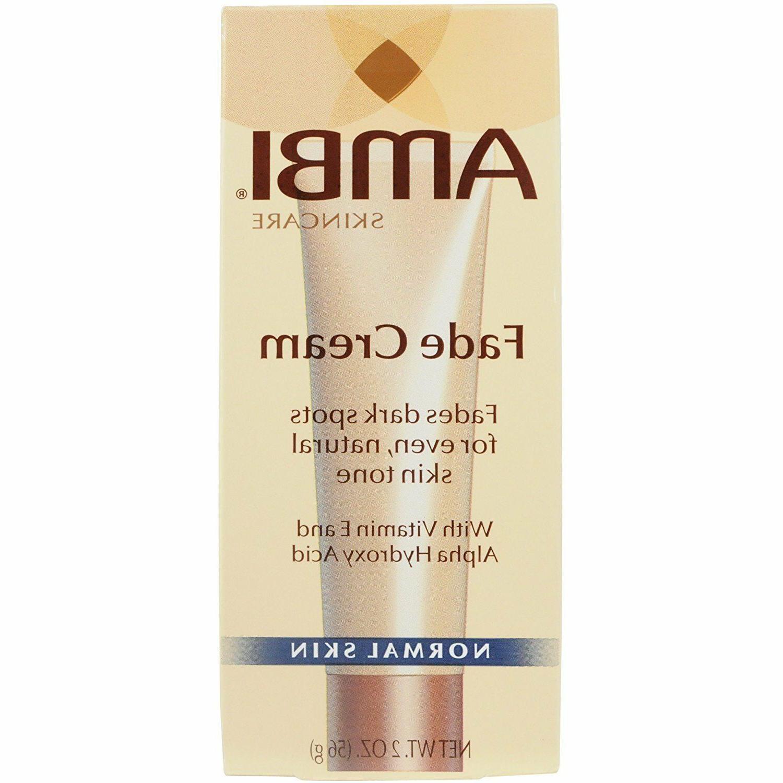 AMBI SKINCARE Fade Cream NORMAL SKIN and OILY SKIN 2oz