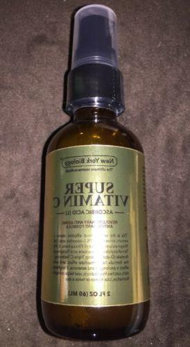 New York Biology Super Vitamin C Serum Age Spots/ Dark Cirlc
