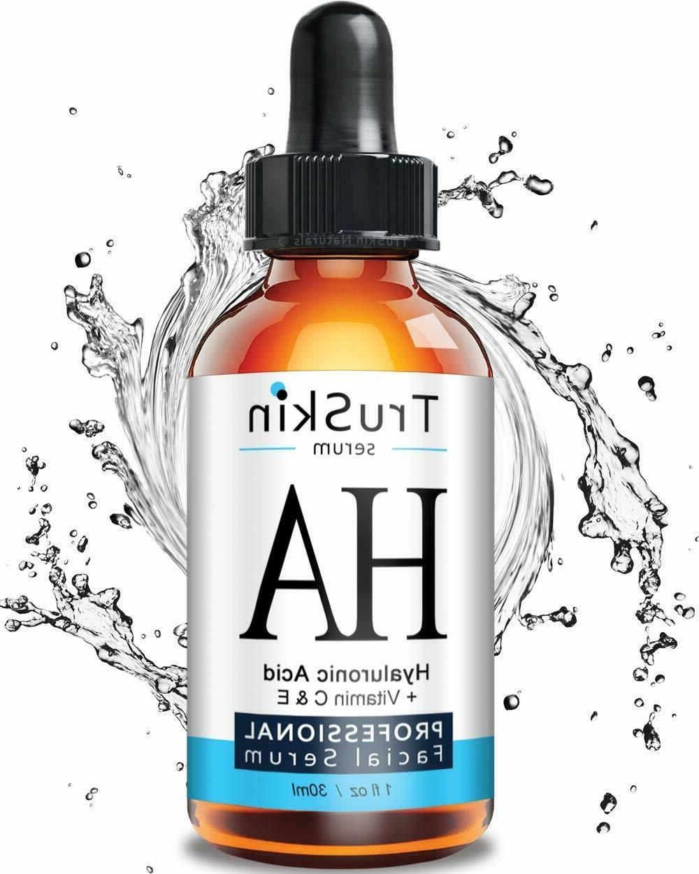 TruSkin Naturals The BEST Hyaluronic Acid Serum for Skin &Fa