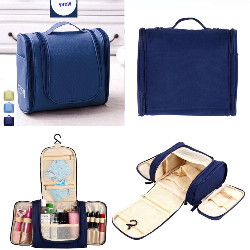 Travel Toiletry Hanging Organizer Bag Cosmetic Makeup Bag