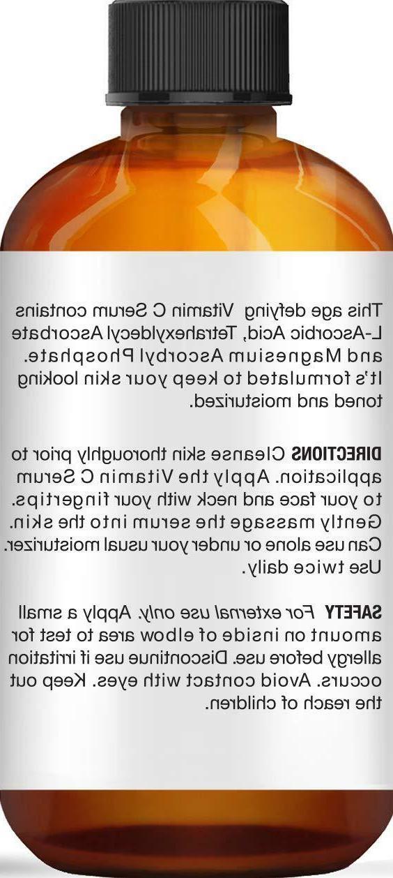 Vitamin C Serum Face w/ Acid 1 fl. Pure - in USA
