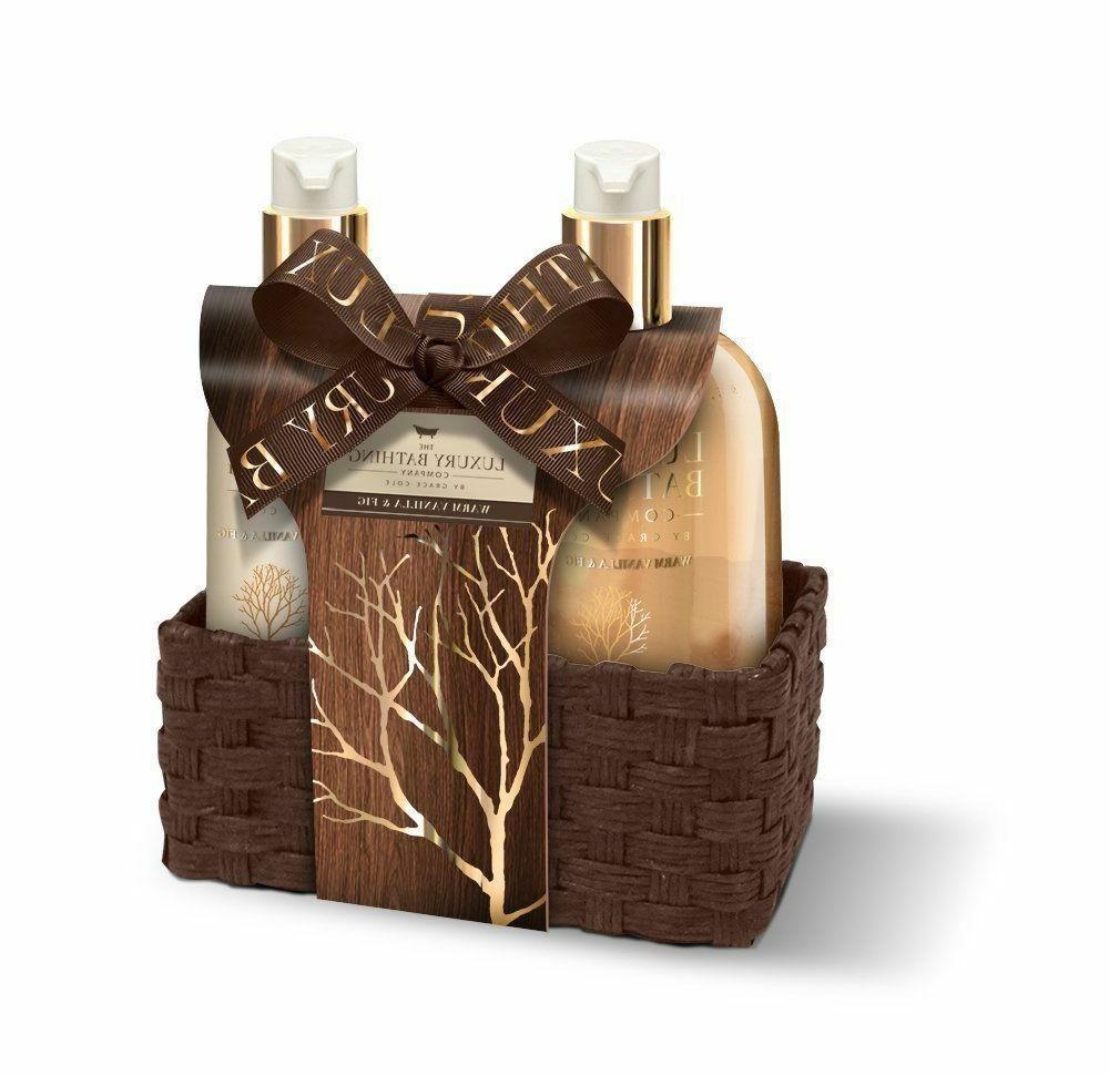 Grace Cole Warm Vanilla & Fig Perfect Pleasures Luxury Hand