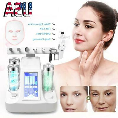 water exfoliating hydro spa oxygen facial skin