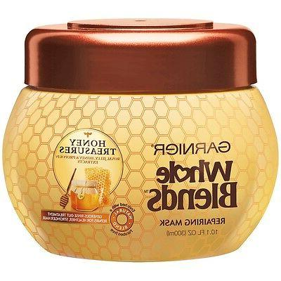 Garnier Whole Blends Honey Treasures Repairing Mask 10.1 fl
