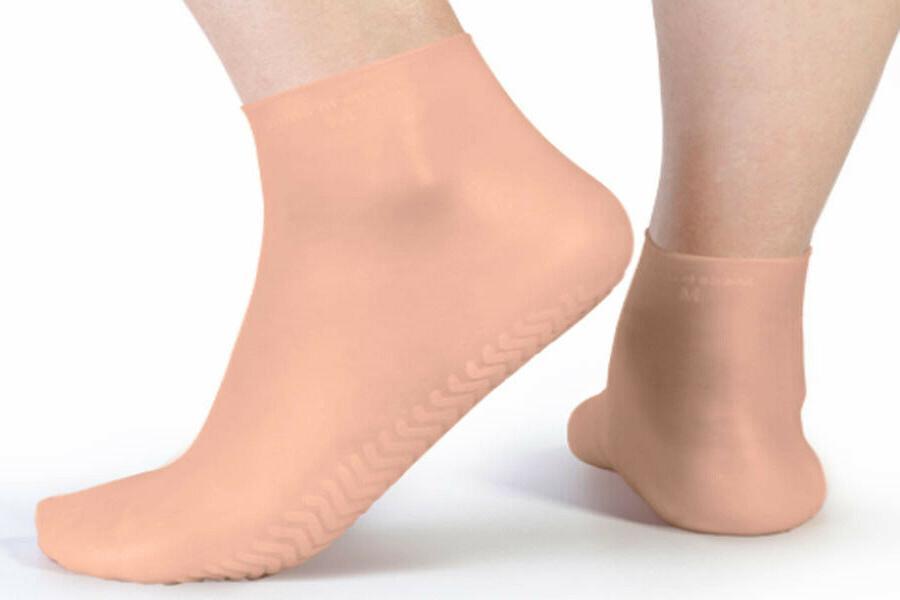 women s moisturizing gel socks beach silicone
