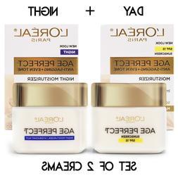 L'Oreal Paris Age Perfect Mature Skin Day Cream + Night Crea