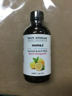 Majestic Pure Lemon Oil, Therapeutic Grade, Premium Quality