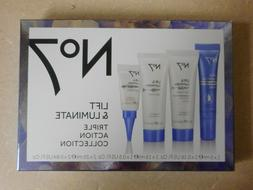 No7 Lift & Luminate Triple Action Collection 4 Piece Anti-Ag