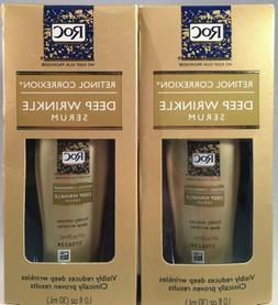Lot Of 2 ~RoC Retinol Correxion Deep Wrinkle Serum ~1.0 Oz.