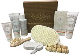 Luxury Vegan Skin Care Collection Home Spa Bath and Body Nat