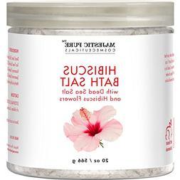 Majestic Pure Hibiscus Flower Bath Salts, Intense Moisture B