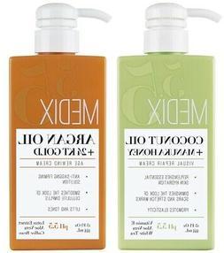 Medix 5.5 Argan Oil Cream and Coconut Cream Set of 2 15 Fl O