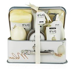 Melon Spa-At-Home Basket. Best Spa Basket, Gift Basket for W