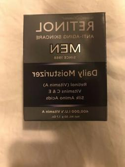Skincare Cosmetics RETINOL MEN Men's Daily Moisturizer 1.7oz