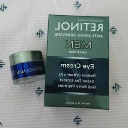 Skincare Cosmetics RETINOL MEN Men's Eye Cream 0.5oz/15g New