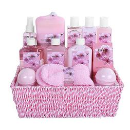 Spa Gift Basket for Women with Exotic & Delicate Japanese Ch