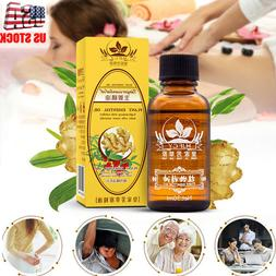 Natural Therapy Lymphatic Drainage Ginger Oil Essential Spa