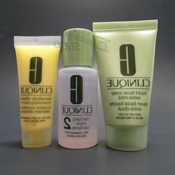 NEW Clinique 10 days 3-step skin care set Facial Soap Clarif