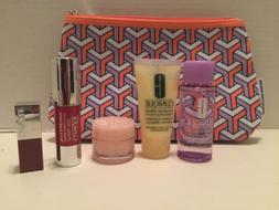 New Clinique 6 Piece Gift Set Travel Kit