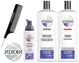 Nioxin System 6 LARGE STARTER KIT for Chemically Treated Hai