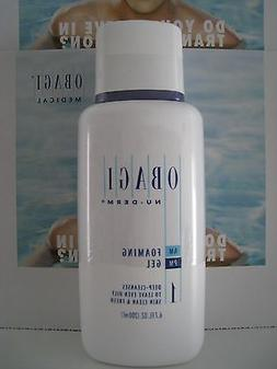 Obagi Nu-Derm Foaming Gel 6.7 oz Brand New Sealed