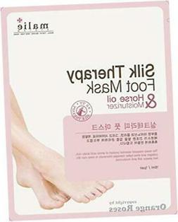 Silk Therapy FOOT MASK 1 Pair x 5 Packs, This Foot Care She