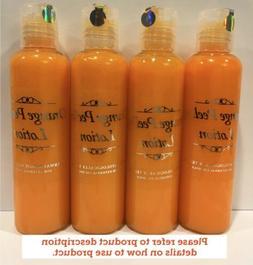 Orange Peel Lotion Professional Skin Care Formula 4 Bottles