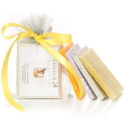 ORGANIC HANDMADE SOAP SAMPLER SET - Scented w/100% Pure Ther
