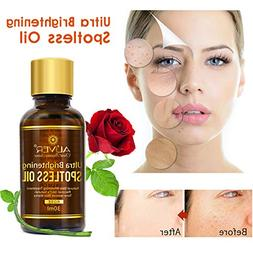 Organic Rose Oil for Face Skin Care 100% Pure and Natural In