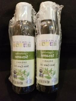 Aura Cacia Organic Skin Care Oil, Protecting Sesame, 4 Fluid