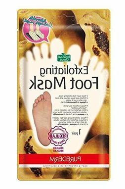 Peeling & Exfoliating Foot Mask Large Size Available