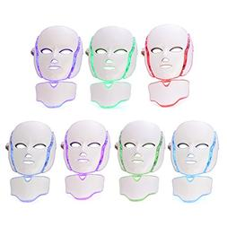 LED Photon Therapy Mask with 7 Color Light Treatment | Face
