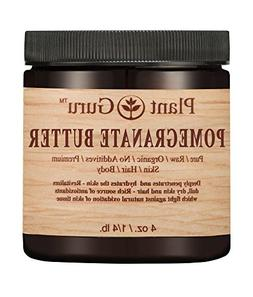 Pomegranate Body Butter 4 oz. 100% Pure Raw Fresh Natural Co