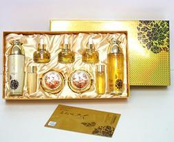 Prime luxury Gold Women Skin Care 7pcs Gift Set/ Korean Cos