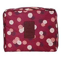 Printing Toiletry Multifunction Skincare Cosmetic Bag Portab