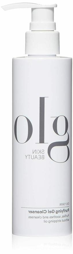 Glo Skin Beauty Purifying Gel Cleanser 6.7 oz / 200 ml New i