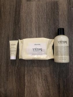 PHILOSOPHY Purity 3-piece set Radiant Pure & Simple Cleanser
