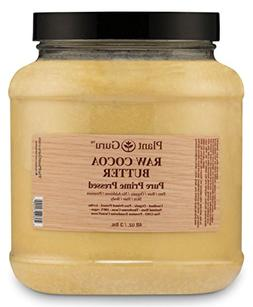raw cocoa butter fresh cold