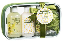 Christmas Bath Gift Set for Her, Skincare Travel Kit Beauty