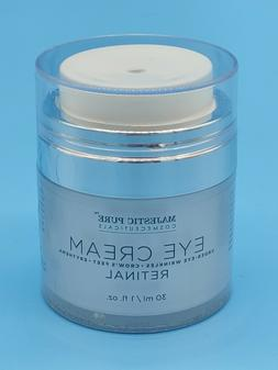 Majestic Pure Retinal 0.1 Eye Cream Reduces the Appearances