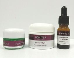 Skincare Cosmetics Retinol Anti-Wrinkle Facial Serum - Night