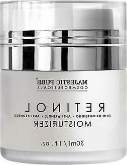 Retinol Moisturizer Cream for Face & Eye Area Night Cream Ma