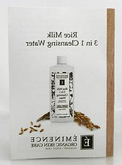 Eminence Rice Milk 3 in 1 Cleansing Water 4.2 oz. Brand New!