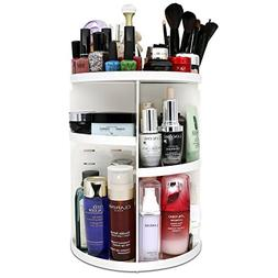 meeracula 360 Degree Rotating Makeup Organizer, Adjustable M