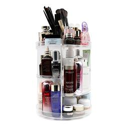 meeracula 360 Degree Rotating Makeup Organizer, Adjustable M