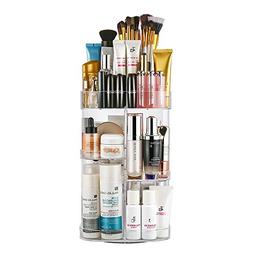 Jerrybox Makeup Organizer Adjustable Professional Makeup Org