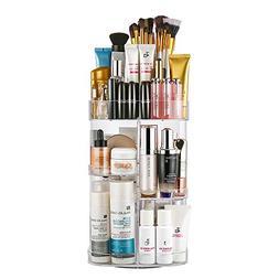 Jerrybox Makeup Organizer Adjustable Professional Makeup Org