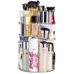 Jerrybox 360 Degree Rotation Makeup Organizer Adjustable Mul