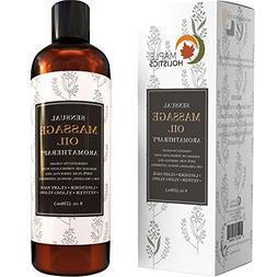 Sensual Massage Oil - 8 Oz | Lavender Aromatherapy & Therape