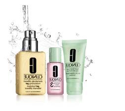 Set CLINIQUE 3-STEP SKIN CARE Combination Oily Skin Soap+lot